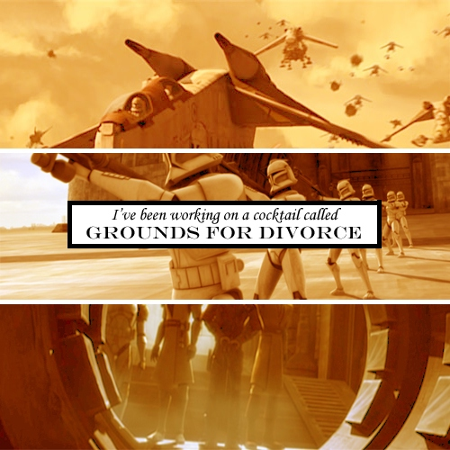Grounds For Divorce - A Clone Wars Fanmix