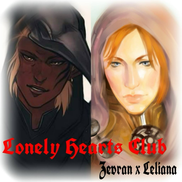 Lonely Hearts Club - Zevran/Leliana fanmix