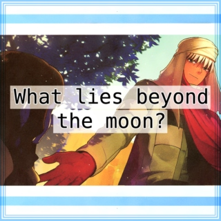 What lies beyond the moon?