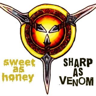 sweet as honey sharp as venom