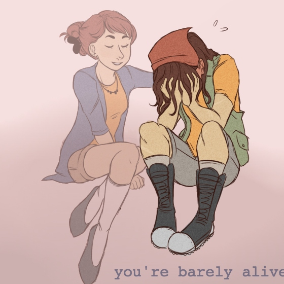 you're barely alive