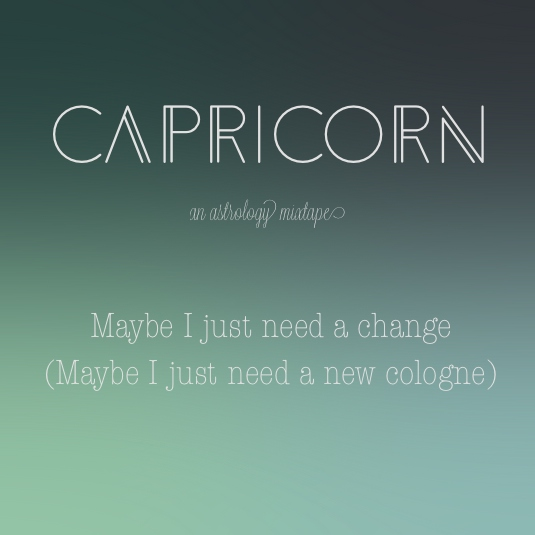 Maybe I just need a change