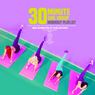 30 Minute K-pop Girl Group Workout Playlist!