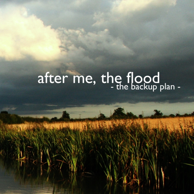 After Me, The Flood - The Backup Plan - Roxy Morton