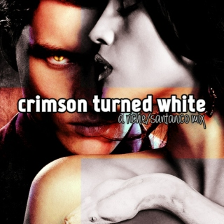crimson turned white