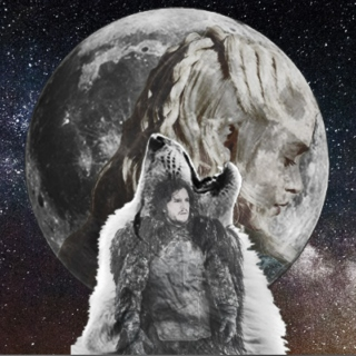 I'm A Wolf And She, My Moon