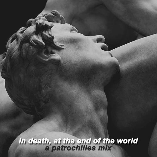 in death, at the end of the world