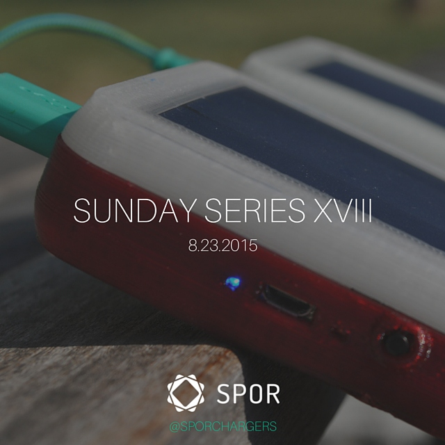 SPOR Sunday Series XVIII