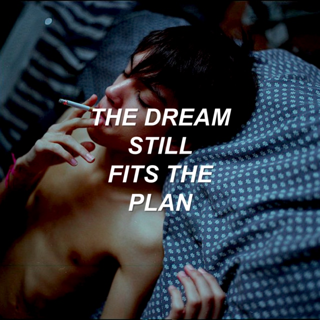 the dream still fits the plan