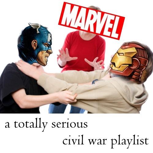 a totally serious civil war playlist