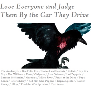 Love Everyone and Judge Them By the Car They Drive