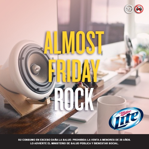 Almost Friday Rock!