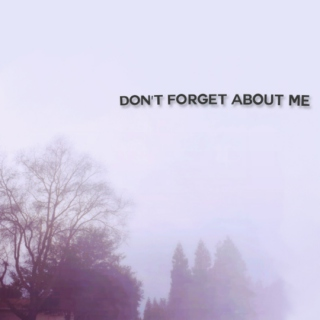 Don't Forget About Me