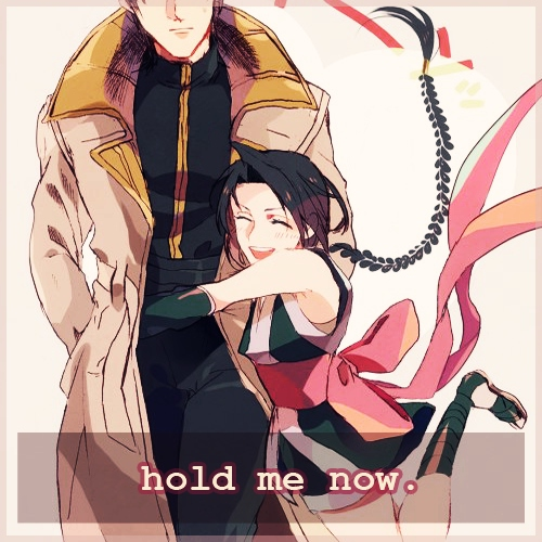 hold me now