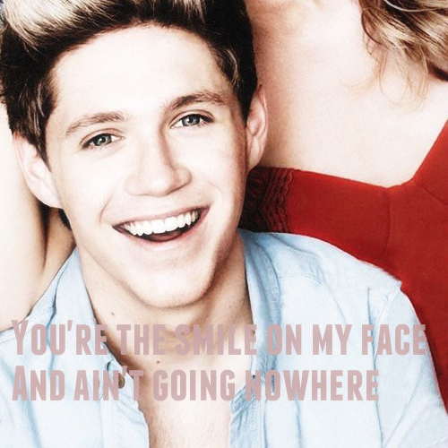 Your the smile on my faceღ