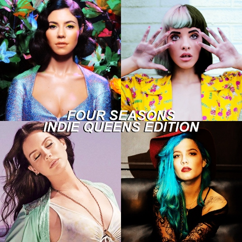 four seasons - indie queens edition