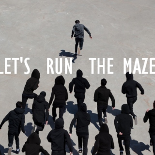 LETS RUN THE MAZE