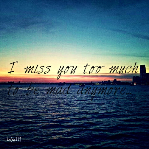 8tracks Radio I Miss You Too Much To Be Mad Anymore 9 Songs
