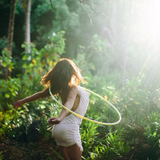 The Hula Hoop Girl Earth Element Rhythms