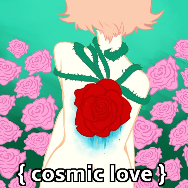{cosmic love} - A PearlRose mix