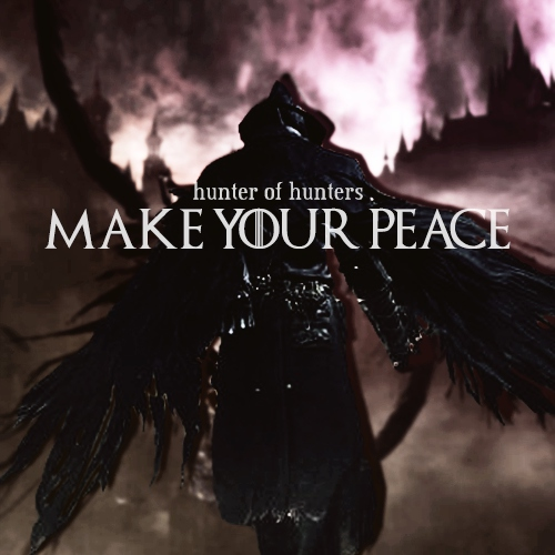 make your peace