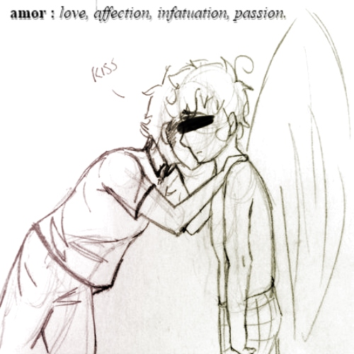 ❤ amor : love, affection, infatuation, passion. ❤