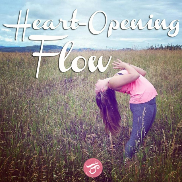 Heart-Opening Flow Yoga