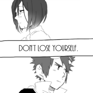 Don't Lose Yourself.