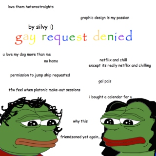 gay request denied