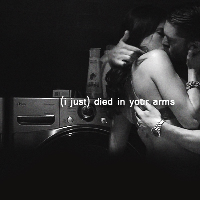 (i just) died in your arms