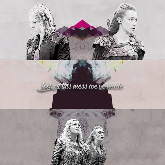 look at this mess we've made ; a clexa playlist