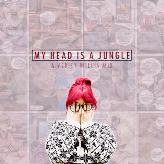 my head is a j u n g l e