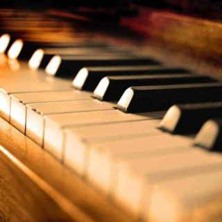 Piano keys are the keys to my heart.