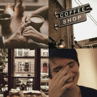 falling in love at a coffee shop ♡