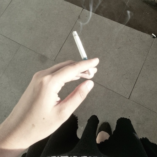 you gave me three cigarettes to smoke my tears away