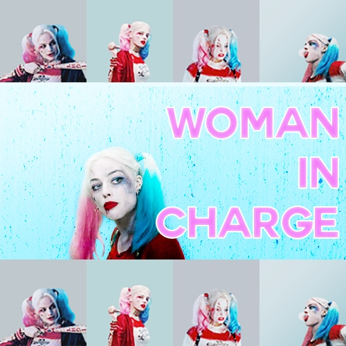 woman in charge
