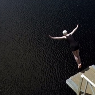 To dive is to fly