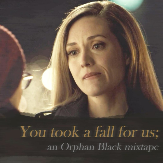 you took a fall for us // delphine cormier