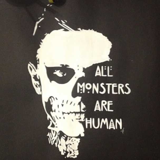 · ALL MONSTERS ARE HUMAN ·