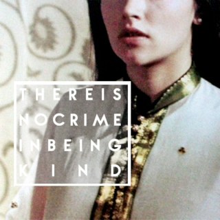there is no crime in being  k i n d || a jocasta mix