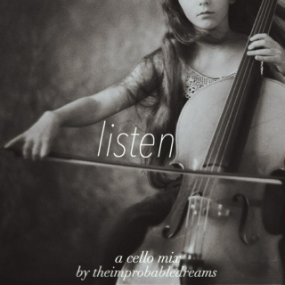 listen - a cello mix