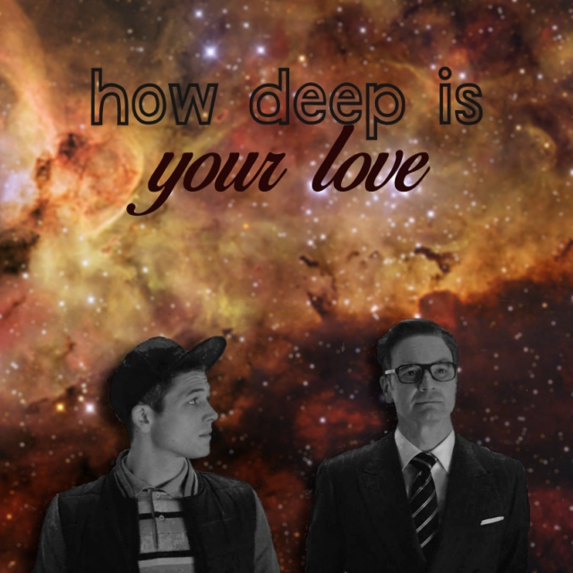 » how deep is your love «
