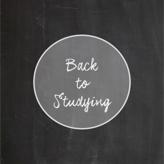 Back to Studying