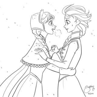 Elsanna Week Day 3: Corny Romance