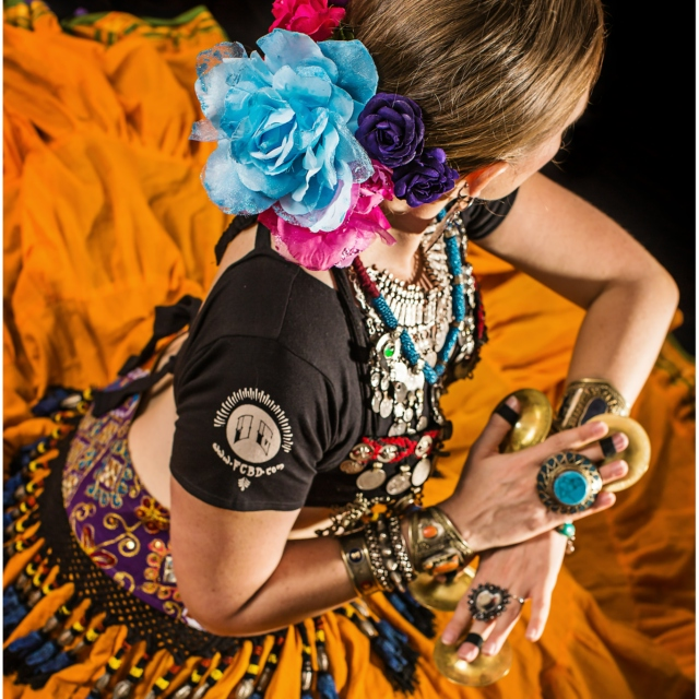 Deep in American Tribal Style® belly dance