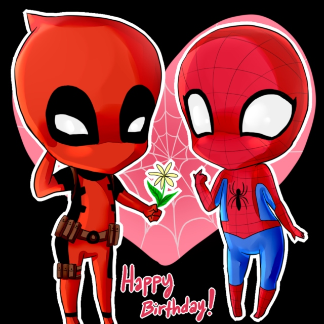 happy birthday petey!! | wade's spideypool playlist