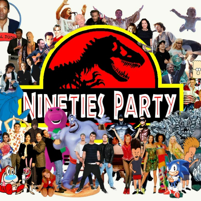 Drinking In The Park Presents - Nineties Party