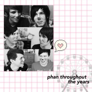 phan throughout the years