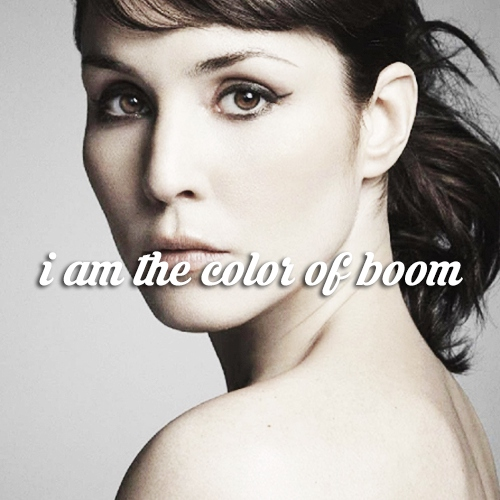 i am the color of boom