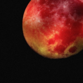 there's a big blood moon tonight
